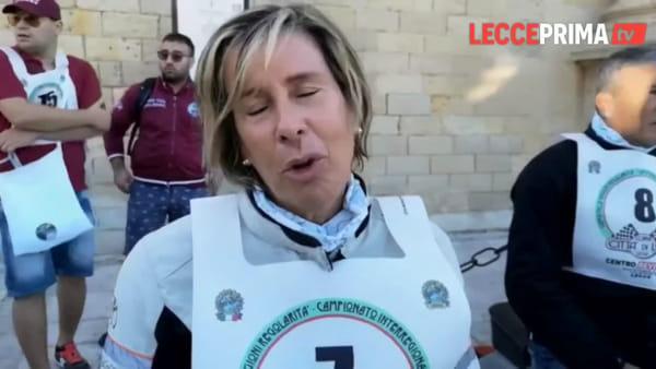 Coppa Città di Lecce, la partenza dei vespisti per la seconda edizione