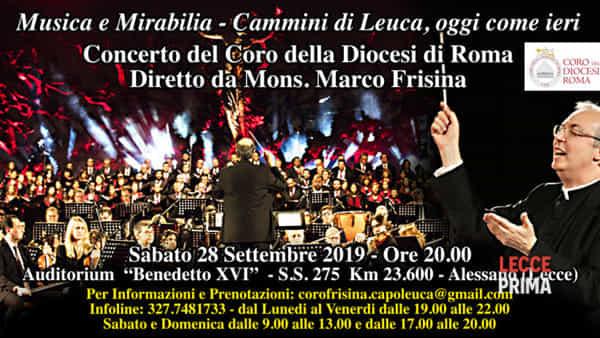 Il coro della Diocesi di Roma diretto da Marco Frisina