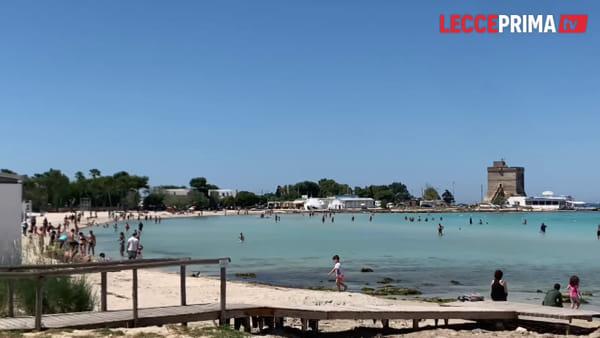 Code verso il mare: i salentini si godono le spiagge dopo il lockdown