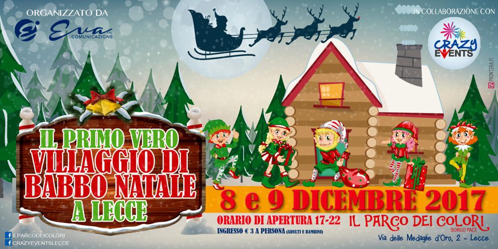 Allestimento Villaggio Di Babbo Natale.Il Villaggio Di Babbo Natale Eventi A Lecce