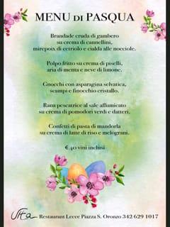 Vita Restaurant Lecce